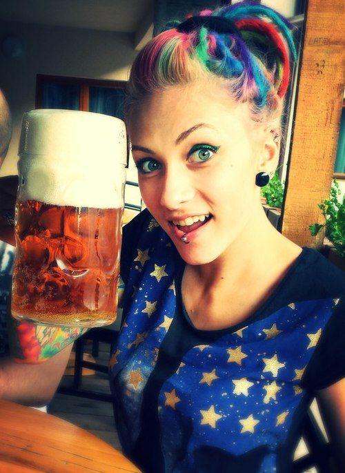 bière arc en ciel