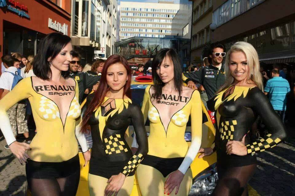 bodypainting renault