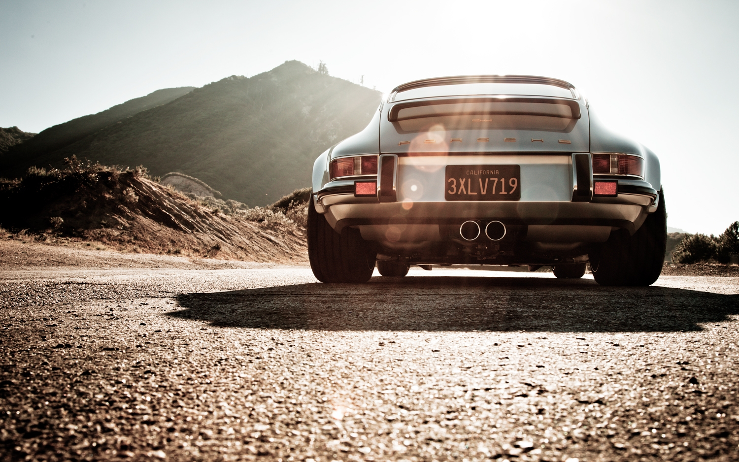 porsche-911-singer-rear-view